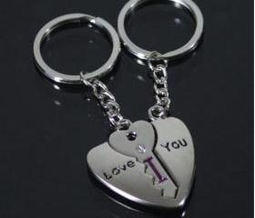 [grdx02194]write letter love you key chain