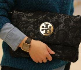 [gryxh3200391]retro cool fashion black lace bag