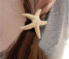 [gryxh31000311]sea star Hair Band Hair Ring