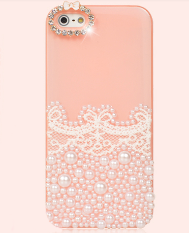 cute pearl lace apple iphone 5 Apple Iphone 5s Cute Case
